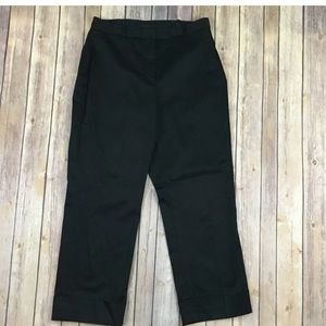The Limited Women Cropped Pants 8 Stretch Solid